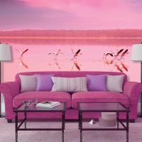 DIVINO Decor – C-081 Фламинго на закате
